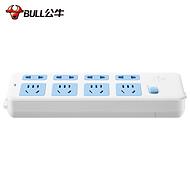 安全标杆插座 GN-403 3米 插排插板接线板插线板拖线板电源插座