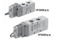 SY5000系列底板配管单体式5通电磁阀,SY5140-3DZD