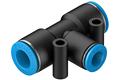 Festo快插式螺纹接头,QS系列,QST-10-8,153136