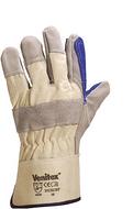 代尔塔 204202优质牛皮缝线手套 DS202(替换204605))