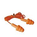 圣诞树型硅胶耳塞(带线)