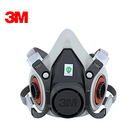 3M  6100半面型防护面具24个/箱