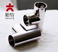 不锈钢等径异径管T型三通 304Φ133*2