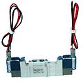 SMC电磁阀,两位五通双电控,M型插座式(300mm),DC24V,SY5220-5MZ-01