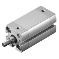 Festo紧凑型气缸,ISO 21287,活塞杆杆端外螺纹,ADN-25-50-A-P-A