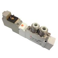 SMC 5通电磁阀,SY5120-5YO-C6F