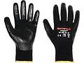 POLYTRIL MIX舒适型耐油防滑粉末丁腈涂层涤棉工作手套,尺码:08