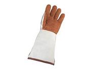 ATLANTIC WELDER镀铝皮革焊接隔热手套,右手,EN407-41344X,尺码:10