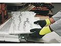 UP & DOWN I VIZ天然乳胶耐磨防寒工作手套,醒目黄色,EN511-X2X,尺码:07