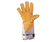 进口防水牛皮耐高温手套,EN407-4132XX,尺码:09