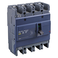 EZD160 塑壳配电保护 EZD160E-100A 固定式/板前接线 4P(新)